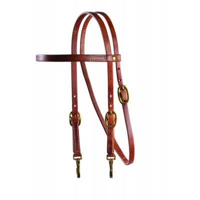 Schutz by Professionals Choice Brow/Snap Cheeks Headstall