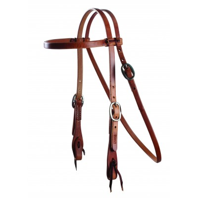 Schutz by Professionals Choice Cowboy Laced Browband Headstall