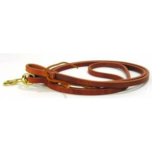 Schutz by Professionals Choice Reins Harness Leather Roping Reins with Waterloops