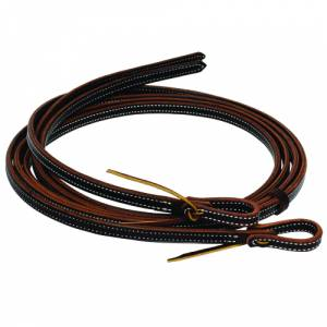 Al Dunning by Professionals Choice Oiled 2 ply Reins Reins