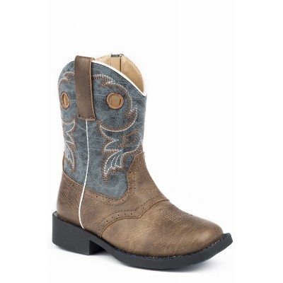 Roper Daniel - Toddler - Brown/Marble Blue