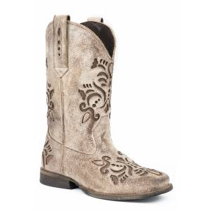 Roper Belle Boot - Kids - Tan