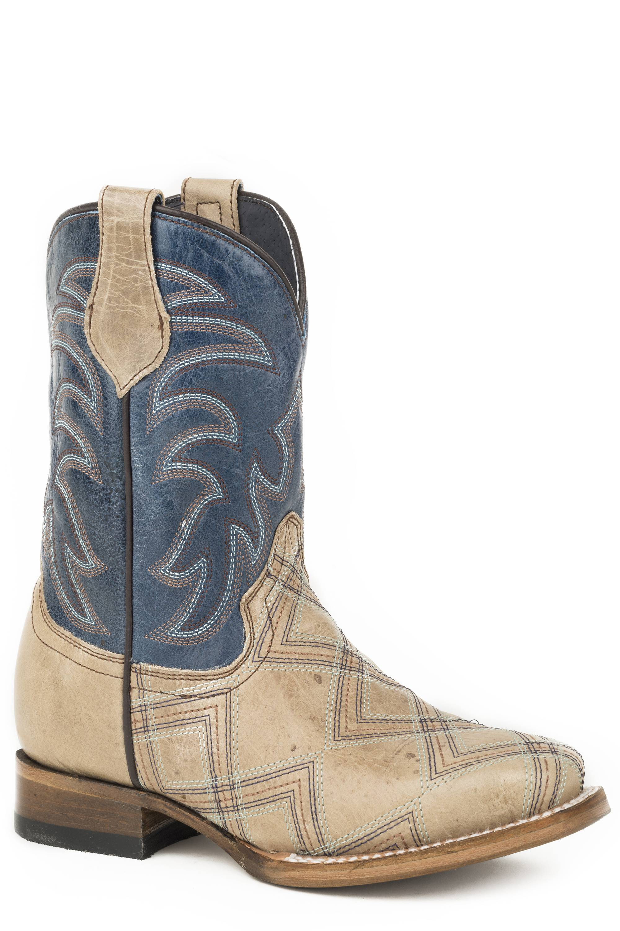 a3a24abd95c2 Roper Kyle Square Toe Western Boots Kids