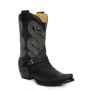 Roper Sting Conceal Carry Boot - Mens - Black