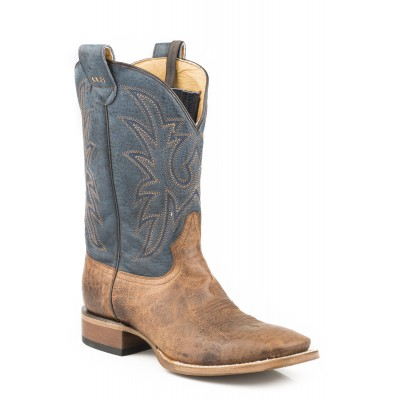Roper Pierce Conceal Carry Boot - Mens - Tan/Blue