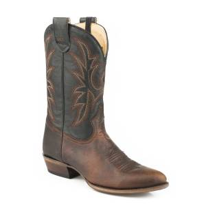 Roper Loaded R Conceal Carry Boot - Mens - Wax Brown