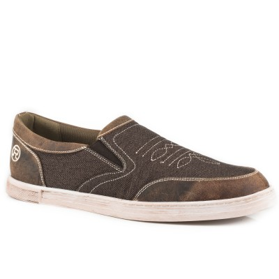 Roper Vagabond Slip On Shoe - Mens - Brown