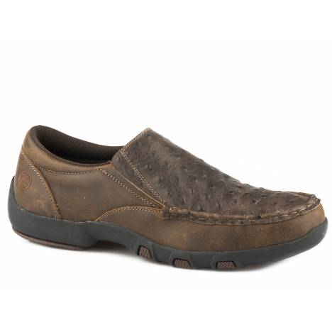 Roper Owen Slip On Shoe - Mens - Vintage Brown