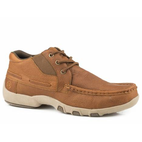 Roper Chuck Chukka Shoe - Mens - Tan