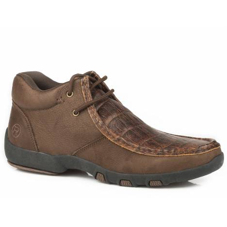 Roper Brody Chukka Shoe - Mens - Brown
