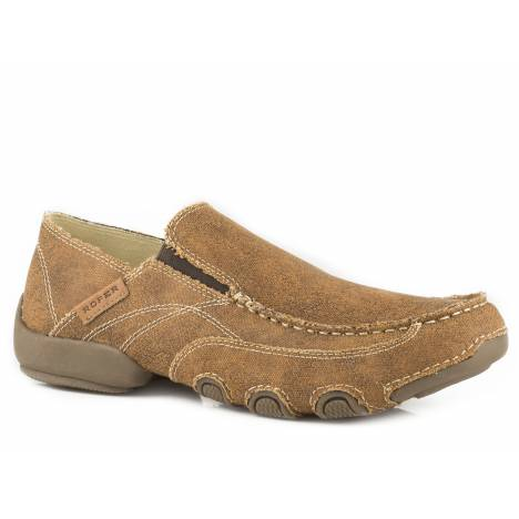 Roper Dougie Shoe - Mens - Tan