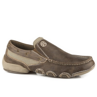 Roper Skipper Shoe - Mens - Tan