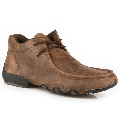 Roper High Cruiser Chukka Shoe - Mens - Vintage Brown