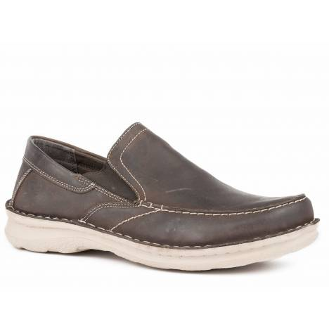 Roper Will Shoe - Mens - Dark Brown