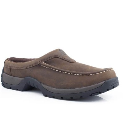 Roper Trot Slip On Shoe - Mens - Brown
