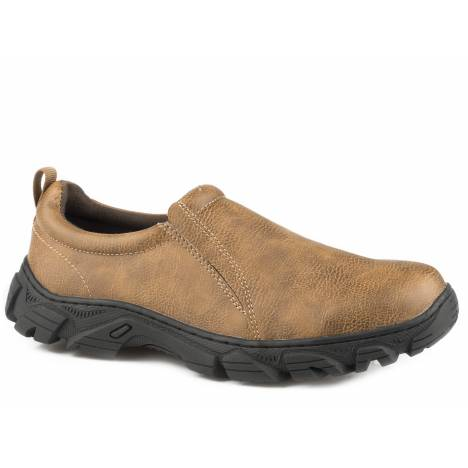 Roper Cotter Shoe - Mens - Tumbled Tan