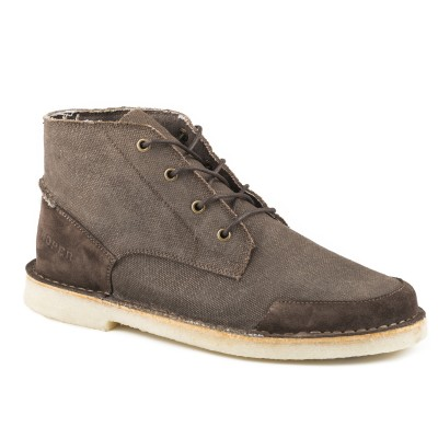 Roper Everett - Mens- Brown Wax