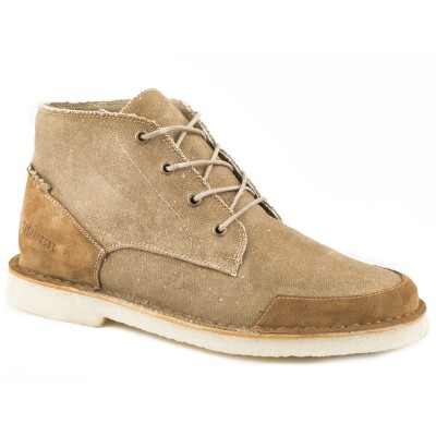 Roper Everett - Mens- Tan Wax