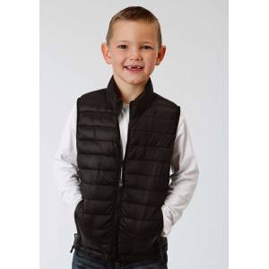 Roper Crushable Parachute Vest- Boys-Black