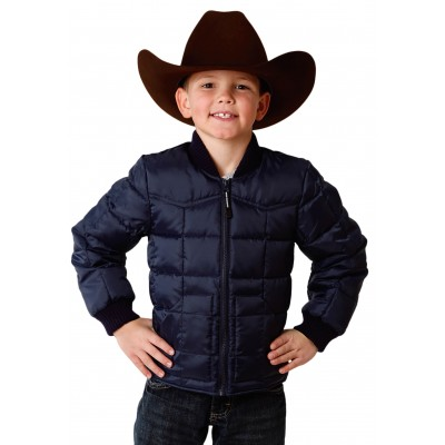 Roper Rangegear Down Jacket-Boys-Blue