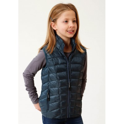 Roper Rangegear Down Vest - Girls - Teal