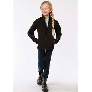 Roper Technical Soft Shell Jacket - Girls - Black