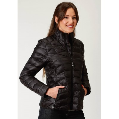 Roper Crushable Parachute Jacket-Ladies-Black
