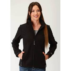 Roper Soft Shell Jacket-Ladies-Black