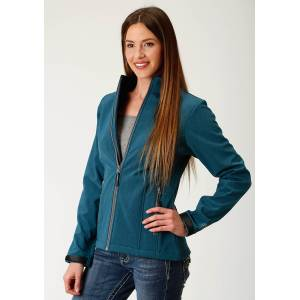 Roper Soft Shell Jacket-Ladies-Teal