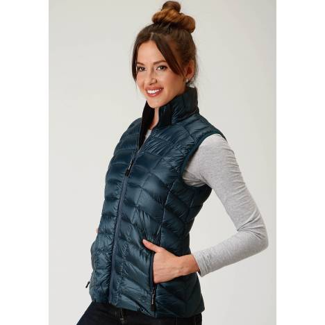 Roper Rangegear Lightweight Down Vest-Ladies-Teal