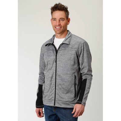 Roper Rangegear Light Weight Fleece Jacket - Mens - Grey