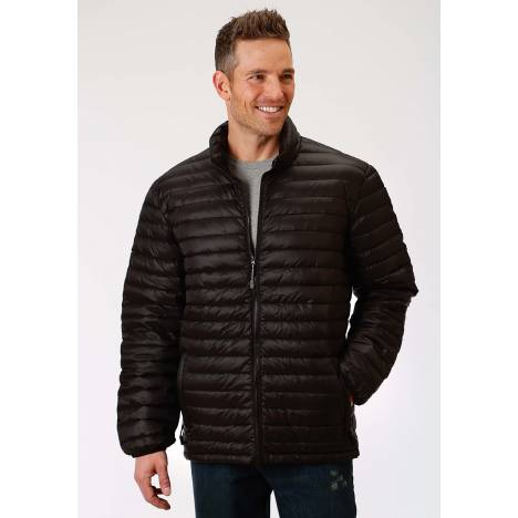Roper Crushable Parachute Jacket - Mens - Black