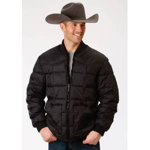 Roper Rangegear Down Jacket - Mens - Black