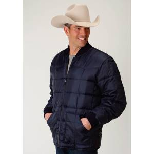 Roper Rangegear Down Jacket - Mens - Navy