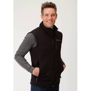 Roper Technical Soft Shell Vest - Mens - Black