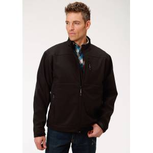 Roper Conceal Carry Soft Shell Jacket - Mens - Black