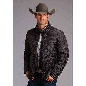 Stetson Nylon Parachute Jacket - Mens - Black