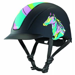 Troxel Spirit Helmet - Pop Art Pony