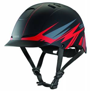 Troxel TX Helmet - Red Flash