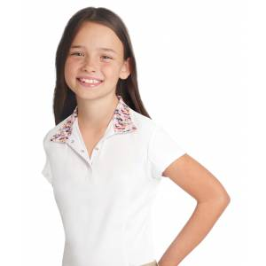 Ovation Ellie Quarter Snap Short Sleeve Show Shirt - Kids
