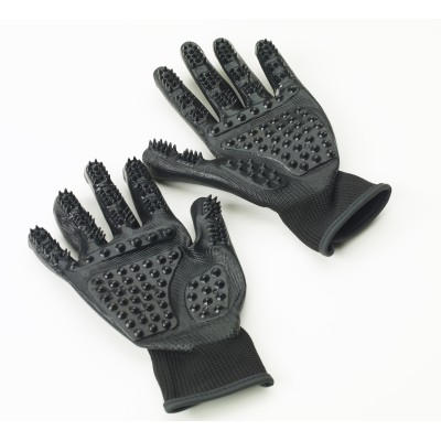 Equissential Ultimate Grooming Glove- Black