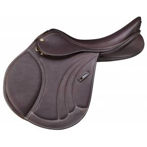 Pessoa Tomboy II Covered Leather Saddle
