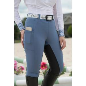 FITS All Season Full Seat Breech - Ladies - Bleu