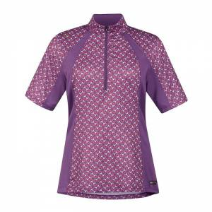 Kerrits Ladies Ice Fil Short Sleeve Print Shirt