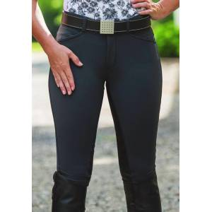FITS Ladies Free Flex Full Seat Zip Front Breeches
