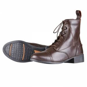 Dublin Kids Elevation Laced Paddock Boots II