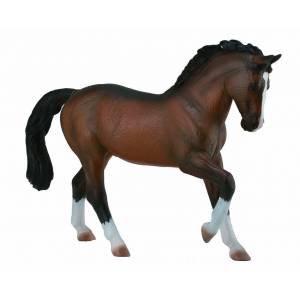 Breyer by CollectA - Bay Warmblood Stallion