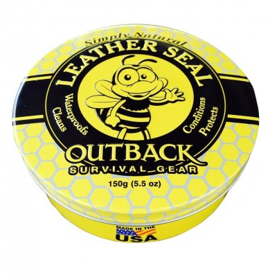 Outback Survival Gear Leather Seal Tin