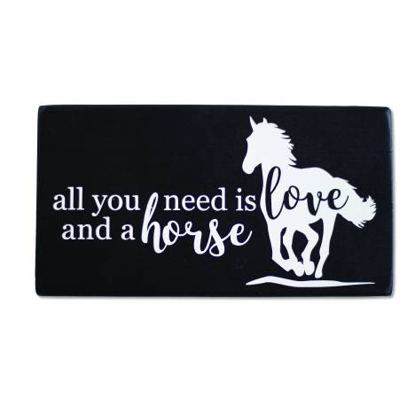 All You Need is Love and a Horse Shelf Sitter