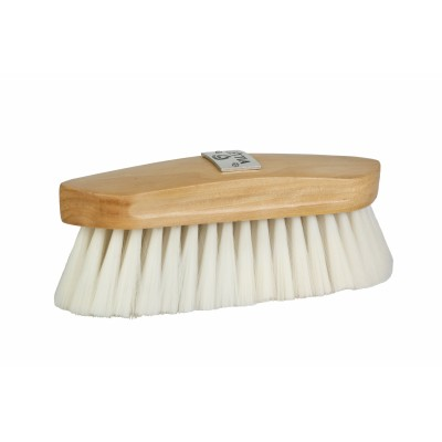 Lettia Collection Synthetic Goat Hair Brush Wood Back